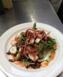 Pulpo Salad
